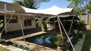 Waterproof Wedding Event Patio Pool Hot Tub Awning Canopy Bedouin Stretch Tent