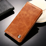 Luxury Pu Leather Flip Cover Stand Card Slot Business Case For Lenovo K6 S1 K3