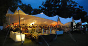 Waterproof Commercial Wedding Event Stage Patio Yard Lawn Bedouin Stretch Tent