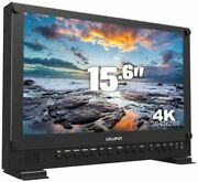 15.6 Carry-on/rackable 4k Broadcast Director Monitor With Sdi Hdmi Vga And D...