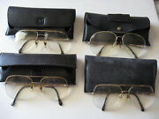Aviator Style Glasses Retro Vintage Style Metal Lot Of 4 Preowned