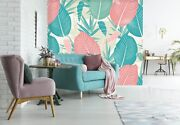 3d Leaf Red 772 Wall Paper Print Wall Decal Deco Indoor Wall Murals Us Summer