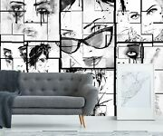 3d White Face 830 Wall Paper Print Wall Decal Deco Indoor Wall Murals Us Summer