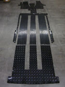 Rubber Car Mats Fitted For Vw T6 Multivan Bus + Complete Set + From Bavaria