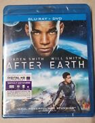 After Earth 2 Disc, Blu-ray + Dvd Blu-ray New