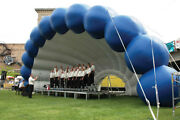 Inflatable Commercial Wedding Event Music Concert Stage Patio Party Arch Tent