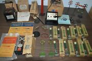 1930's-1940's Vintage Model Train Accessory Lot Must See