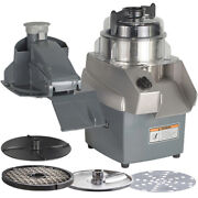 Hobart Hcc34-1a Combination Food Processor With Slicer Shredder Dicing Plates