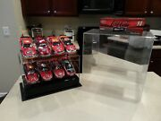 Lot Of 8 Six Nascar Racing Champions 124 Scale Die Cast Stock Cars - Signed