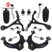 14 Pc Suspension Control Arm Kit Ball Joint Sway Bar Link For 03-07 Honda Accord