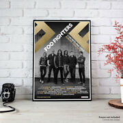 Foo Fighters | Europe Tour 2018 Concrete And Gold Concert Fine Art Print Poster