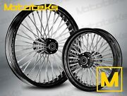 Fat Spoke Wheel 21x3.5 And 16x3.5 For Indian Motorcycle Scout Sixty Bobber 15-up