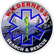 Wilderness Search And Rescue Reflective Decal Sticker Paramedic Fire Fighter Emt