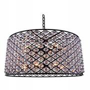 1206 Madison Collection Pendent Lamp D35.5 H28 Lt12 Mocha Brown Finish ...