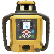 Topcon Rl-sv2s Rb.d Dual Slope Self-leveling Laser Level Digital And Rechargeable