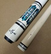 Meucci Pool Cue 21-3 21st Century W/ Red Dot Shaft W/ Free Shipping