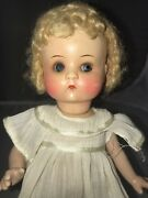 9 Antique German Painted Bisque Head Doll Am Just Me Composition Body