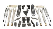 Maxtrac K883362f-4l 6 Forged Four Link Lift Kit For 2017-2020 Ford F250/350 4wd