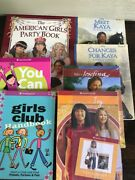 Lot Of 7 American Girl Books Kaya Party Book Be Your Best Josefina Ivy Paperback