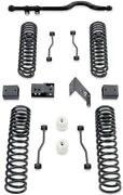 Maxtrac K889745 4.5coil Lift Kit W/front Track Bar For2007-2016jeep Wrangler Jk