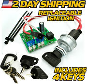 Starter Ignition Key Switch Module Replaces John Deere Am122913 W/ Umbrella Key