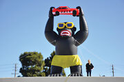Giant Gorilla Inflatable Kit For Car Lots And Dealerships | 20and039 Inflatable Huge