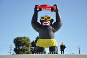 Giant Gorilla Inflatable Kit For Car Lots And Dealerships   20and039 Inflatable Huge