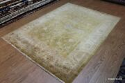 Washed Out Handmade Vegetable Dyed Fine Quality Rug Oriental Muted Color
