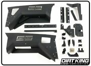 Dirt King Over-sized Front Wheel Wells For 14+ Chevy Silverado 1500   Dk-631964