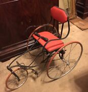Antique Tricycle Velocipede Gendron Wheel Co.