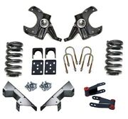 Pro Suspension 7387c1057 5/7 Premium Drop Kit For 1973-1987 Chevy And Gmc C10 2wd