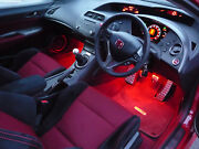 Mugen Honda Civic Type R S Gt Fn2 2006 - 2011 Ambient Footwell Led Lighting Kits