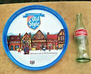 Old Vintage Heilemanand039s Old Style Beer Serving Tray 12 Man Cave Wall Art