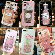 Dynamic Liquid Glitter Quicksand Bling Case Cover For Iphone 12 11 Pro Xs Max 8+