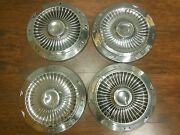 Set Of 1963 Ford 10 1/2 Inch Dog Dish Hubcaps Galaxie Hipo
