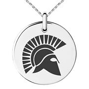 Stainless Steel Ares Greek God Of War Symbol Charm Necklace Or Keychain