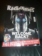 Radio Times Magazine, 13-19 May, 2006. Doctor Who Sticker Book, Stickers Poster
