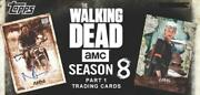 2018 Topps Walking Dead Season 8 Part One Cards Autograph/relic Pick From List