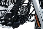 Kuryakyn Chrome Oil Cooler Cover For 2014-2018 Indian Motorcycles Ex Scout 5640