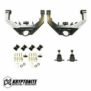 Kryptonite Stage 2 Upper Control Arms Dual Shock Mounts For 2001-2010 Chevy/gmc