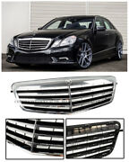 For 10-13 Mercedes-benz W212 E Class S212 Wagon Front Bumper Radiator Grille