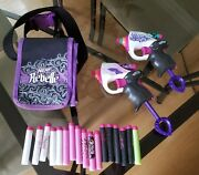 Nerf Rebelle Sneak Attack Single Shot Soft Dart Guns With Carring Case And Darts