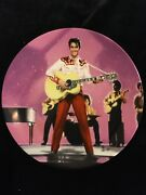 Elvis On The Big Screen Elvis In Loving You Collector's Plate
