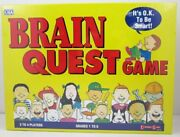 Brain Quest Board Game Grade 1-62 To 4 Players University Game New In Box