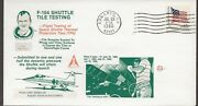 7/25/80 F-104 Shuttle Tile Firing Tests Space Voyager Cover