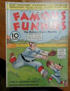 Famous Funnies 22 Eastern Color Beautiful White Pages.buck Rogers