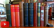 Old Travel Books Lot X 10 Africa Panama Italy Mountains 1890's-1920's Illustrate