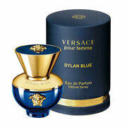 Versace Pour Femme Dylan Blue By Versace 3.4 Oz Edp Spray For Women