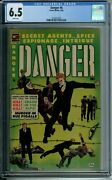 Danger 8 Cgc 6.5 White Pages Only One Copy Higher Only 2 Copies In Cgc 6.5