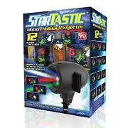 Startastic Holiday Halloween And Christmas Outdoor Movie Slide Projector 12 Modes